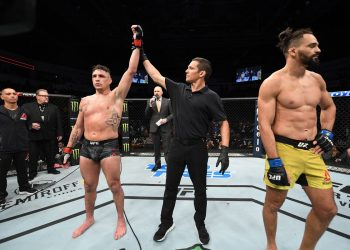 Michel Pereira says the knee never hit Diego Sanchez in the head by closed guard media (closedguardmedia.com)