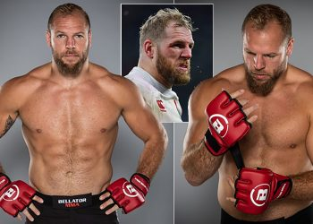 Rugby player James Haskell set for MMA debut at Bellator London by closed guard media (CGM) (closedguardmedia.com)