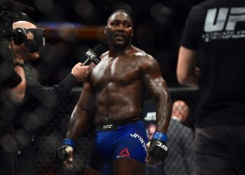 """Anthony Johnson sends a message to LHW and HW division: """"I'll knock 'em all out"""" by closed guard media (CGM) (closedguardmedia.com)"""