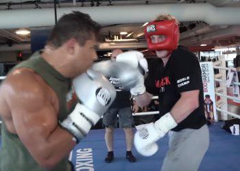 VIDEO: Paulo Costa just beatdown Logan Paul in sparring by closed guard media (CGM) (closedguardmedia.com)