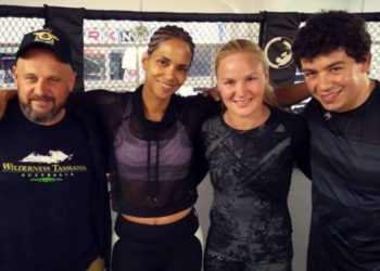 Valentina Shevchenko believes that Halle Berry could do well in the UFC by closed guard media (CGM) (closedguardmedia.com)