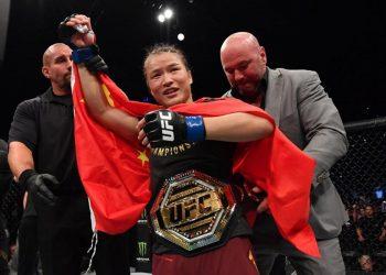 Weili Zhang overtakes Valentina Shevchenko in the P4P rankings by closed guard media (CGM) (closedguardmedia.com)
