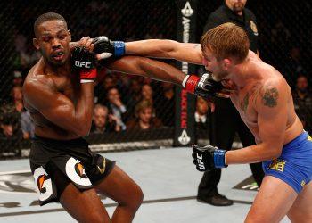 Jon Jones vs. Alexander Gustafsson 1 has been inducted into UFC Hall of Fame by closed guard media (CGM) (closedguardmedia.com)